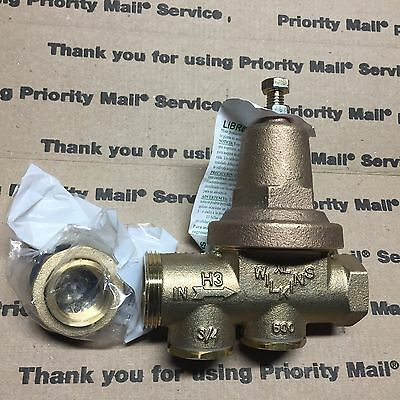 "Zurn Wilkins water pressure reducing valve. 600XL  3/4"" 25-75PSI"