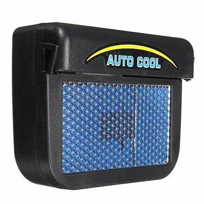 Solar Powered Car Window Windshield Auto Air Vent Cooling Fan System Cooler Tool