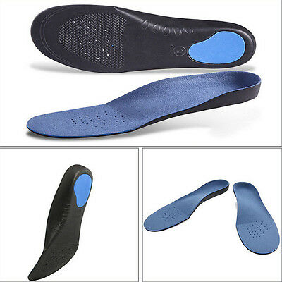 Support Shoe Insoles Pads Pain Relief Cushion Breathable Foam Orthotic Arch