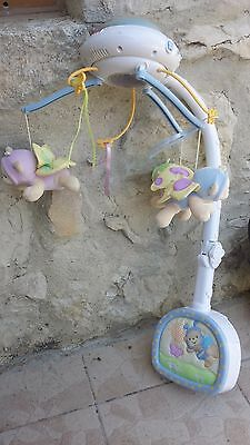 Mobile Doux Rêves Papillon Fisher-Price Mattel veilleuse