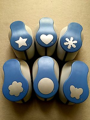 3X EXTRA LARGE 50mm CRAFT PAPER PUNCHES   ~SELECT YOUR DESIGNS~