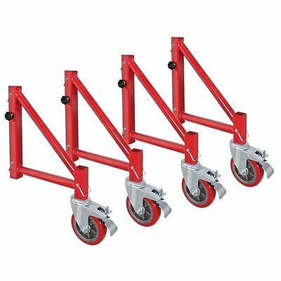 MetalTech I-BMSO4 Outriggers With Casters, 6""