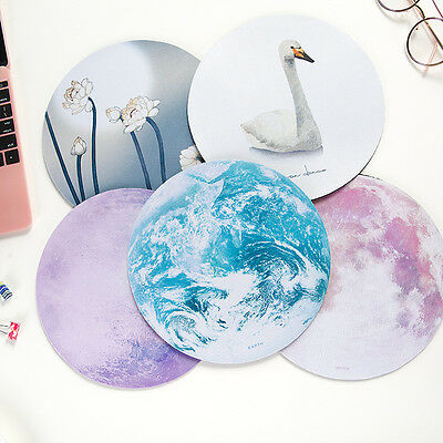 Cool Galaxy Mouse Pad Mat Soft Rubber Mousepad For Optical Laser Mouse Mice