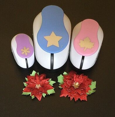 3X CRAFT PAPER PUNCHES Small, Large & Extra Large.!!!!!
