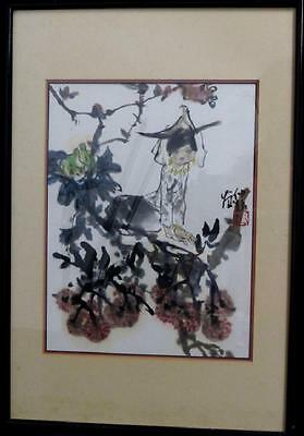CHINESE WATERCOLOR PAINTING --Hand Painted, Signed, Sealed - Auction Find