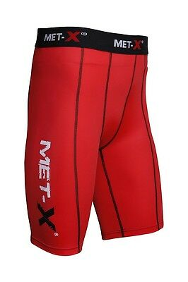 Met-X Mens Compression Shorts Sports Briefs skin tight fit gym pants Base layers