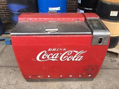 WV COUNTRY STORE COCA COLA ANTIQUE COOLER 1940's-1950's