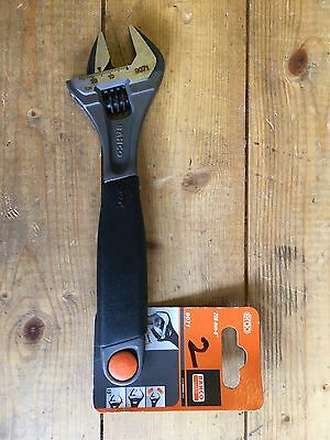 """Bahco Adjustable Wrench Spanner 9071, 208mm, 8""""."""