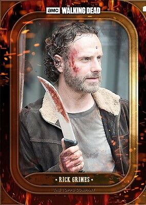 BADASS MARATHON WAVE 2 RICK GRIMES The Walking Dead Card Trader Digital