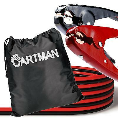 Heavy Duty Booster Cables Cartman Jump Cable with Carry Bag, 2 AWG 2 Gauge  New