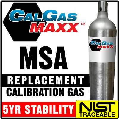 Ideal Replacement Calibration Gas replacement for MSA P/N 10045035