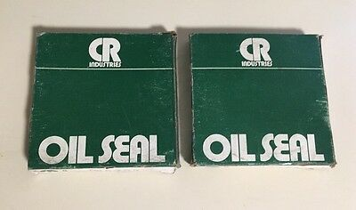 NEW LOT OF 2 CR Industries Oil Seal 20702 Chicago Rawhide Seals Made In The USA