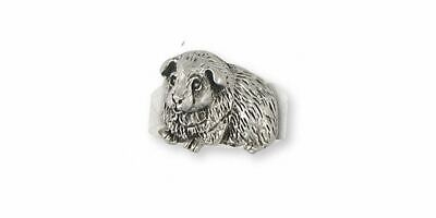 Guinea Pig Ring Jewelry Sterling Silver Handmade Piggie Ring GP8-R
