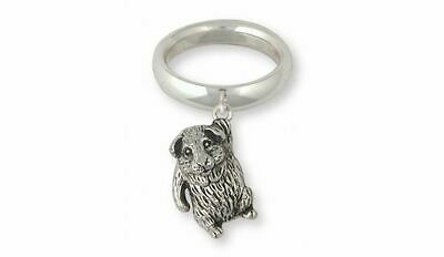 Guinea Pig Ring Jewelry Sterling Silver Handmade Piggie Ring GP3-CR