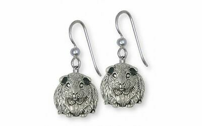 Guinea Pig Earrings Jewelry Sterling Silver Handmade Piggie Earrings GP12X-E