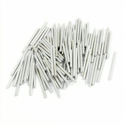 2mm Dia 30mm Length Steel Solid Round Shaft Rod Axles for RC Toy Car 100Pcs