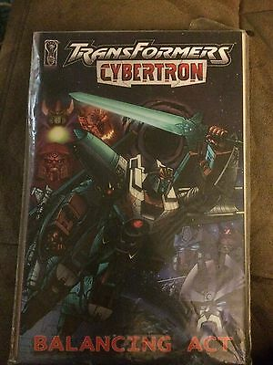 The Transformers: Cybertron: Balancing Act #[nn] (Apr 2007, IDW)