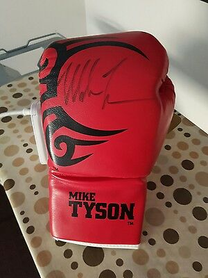 Mike Tyson Personally Signed Boxing Glove