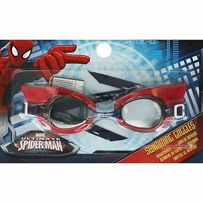 Spiderman 3D Character Swimming Goggles