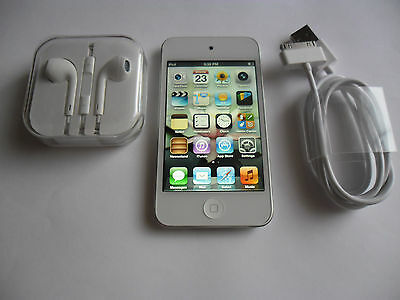 Apple iPod touch 4th Gen White 8GB Mint Condition with Accessories Gift Idea