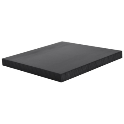 HDPE SHEET / BLACK / 495x420x10mm / FREE SHIPPING!!!