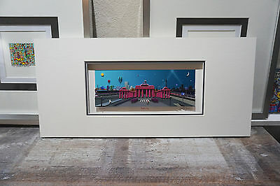 "Original 3D ""BERLIN CITY"" - Fabiano - Panorama-Edition mit Passepartout-Box"