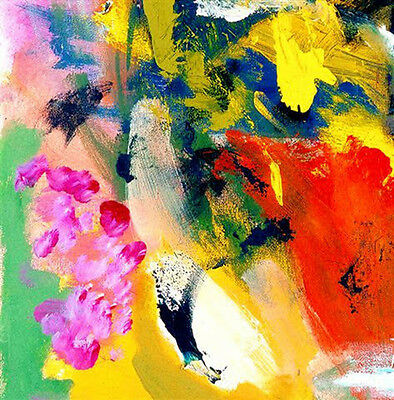 CONTEMPORARY WALL Decor, Modern Art,Abstract Acrylic Painting on Canvas,Delight