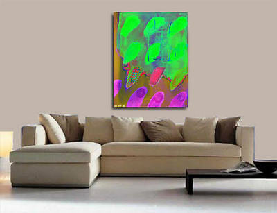 CONTEMPORARY WALLdecor, Abstract Acrylic Painting On Canvas,modern art,RusticFP