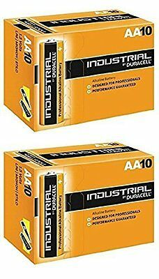 20 X Duracell AA Industrial Battery Alkaline Replaces Procell Expiry 2021
