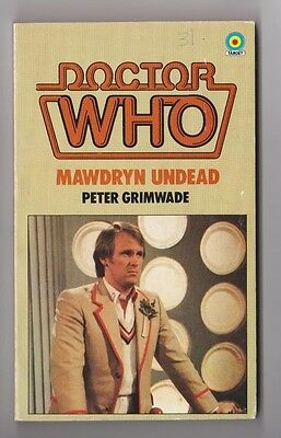 DOCTOR WHO Paperback Book 1983 MAWDRYN UNDEAD # 82 Made In Great Britain