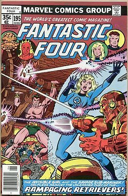 Fantastic Four #195 - NM-