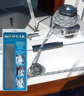 """STAINLESS STEEL Chafe Guard for boats NO WEAR GUARD 6"""" (152mm)"""