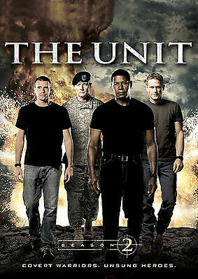 The Unit - Second Season 2 Two (DVD, 2009, 6-Disc Set) - NEW!! Free Shipping!!!