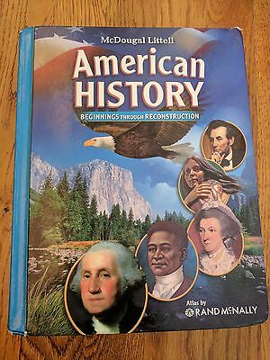 MCDOUGAL LITTELL MIDDLE School American History By Mcdougal