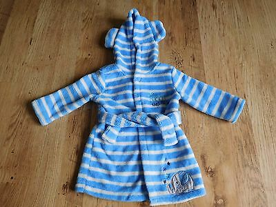 Baby boys dressing gown 9-12 months