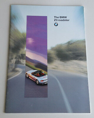 BMW Z3 Brochure Roadster Convertible James Bond 007 Golden Eye Atlanta Blue 1996