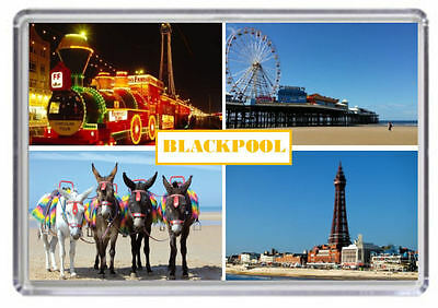 Blackpool Fridge Magnet Free Postage