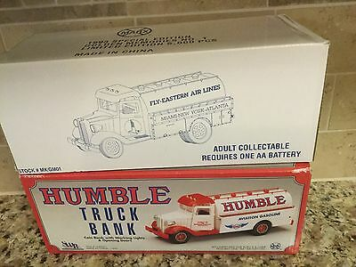 Marx Toy Bundle 1993  EASTERN AIRLINES and HUMBLE TRUCK BANK - Save $$$$