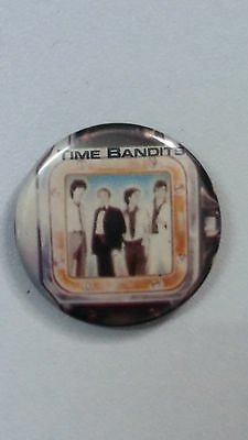 Time Bandits disco funk band logo vintage SMALL BUTTON music