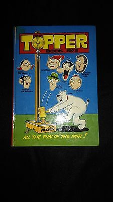 The Topper 1973  Vintage Annual Comic Hardback Book