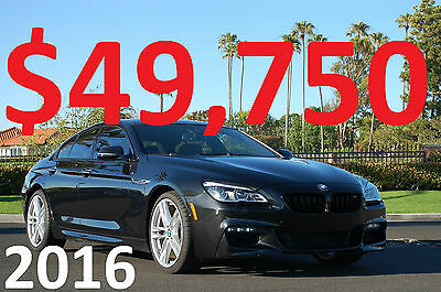 BMW: 6-Series M Sport Package 2016 BMW 650i Gran Coupe M Sport Package - Heads-Up - Lane Departure - HK Sound