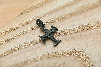 Tiny SUPER RARE Viking Kievan Rus Pendant Cross   9-10 AD