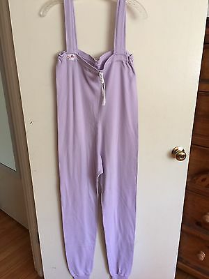 Lavender Sweats by Jo Size S w/ White Belt
