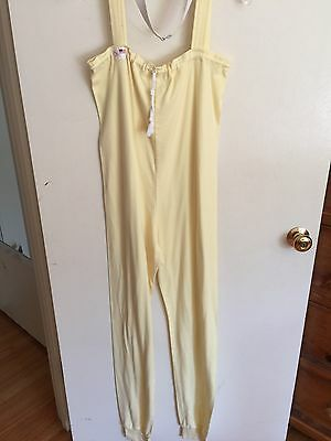 Lemon Sweats by Jo Size S w/ White Belt