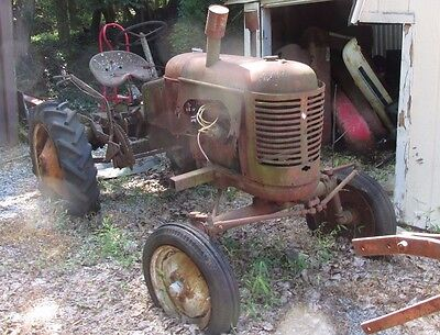 Massey Harris Pony Tractor for Parts or Restoration