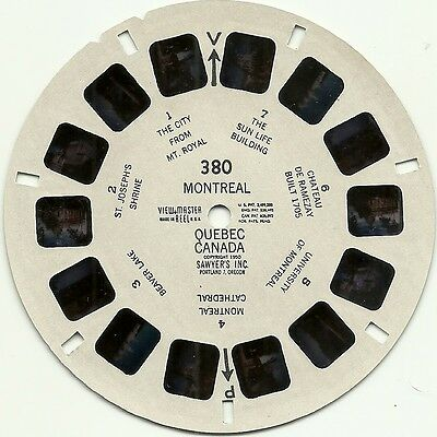 Viewmaster 380 Montreal Quebec Canada