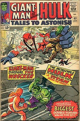Tales To Astonish #63 - G+