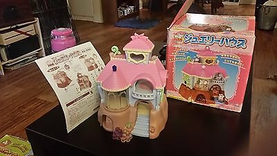 hamtaro playset castle with attachments