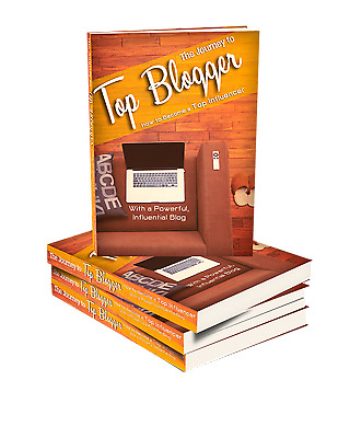 The Journey to Top Blogger- eBook, Videos And Bonuses on CD