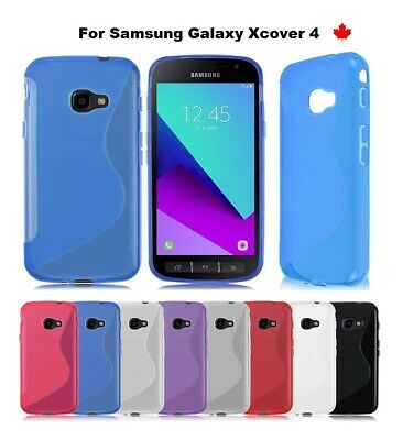 For Samsung Galaxy Xcover 4 - TPU Anti-Scratches Soft Gel Silicone Cover Case
